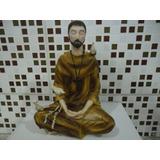 Sao Francisco De Assis Meditando (estátua Em Resina)