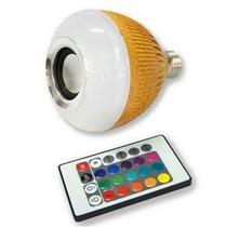 Lampada Bluetooth Músic + Controle Remoto A Pronta Entrega