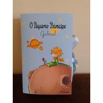 Convite Livro Pequeno Príncipe + Tag (35 Unidades)