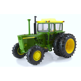 Tractor Ertl John Deere Fina Replica En Metal Escala 1:16