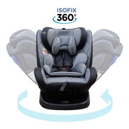 Butaca Bebe Isofix  Reclinable 0/36 Kg Gira 360 Mega Baby