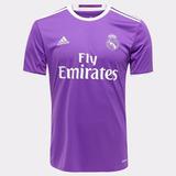 Camisa Real Madrid - Cristiano Ronaldo, Casemiro, Marcelo