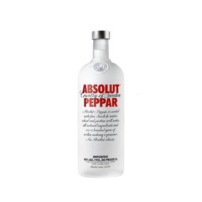 Absolut Vodka Peppar Sueca - 1l