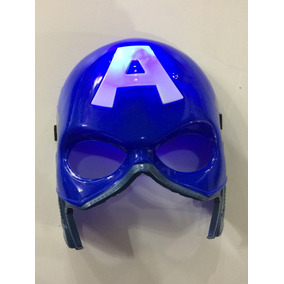 Mascara Do Capitão América Com Luz