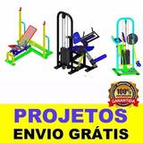 85 Projeto De Maquinas Profissional De Academia + Brindes