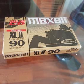 Maxell Cromo Xlii 90 Type 2 Audio Cassette Celofan
