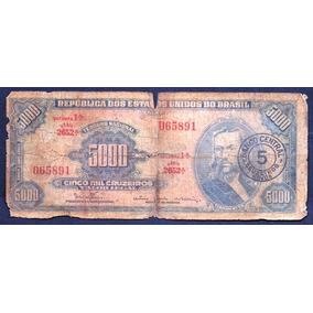 C 123 Cr$ 5,00 - Tiradentes - Denio / Bulhões