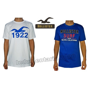 Remeras Hollister Pack 10 X Mayor
