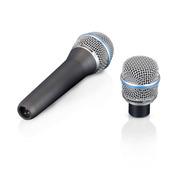 Microfone Samson 2 Capsulas Cs1-vocal E Cs2-instrumentos Mus