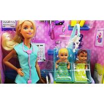 Barbie Pediatra Doctora Gemelos Mattel Quiero Ser