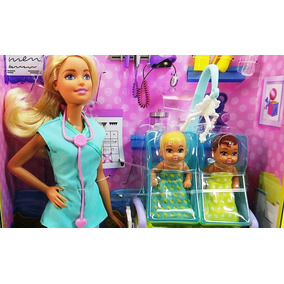 Barbie Pediatra Doctora Gemelos Mattel Quiero Ser