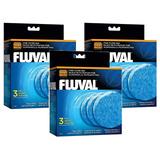 (9 Pack) Fluval Fine Filter Pad, For Fluval Fx5 (3 Packages