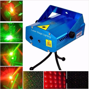 Mini Laser Efecto Lluvia Doble Rojo Verde Dj Orl