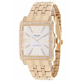 Relógio Champion Passion Feminino Dourado Branco Ch24222h