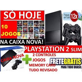 Play 2 +controles + Memory +10 Jogos