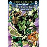Hq Lanternas Verdes #15 - Fora Do Tempo - Renascimento