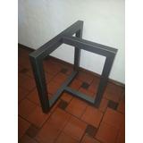 mesa moderna comedor base hierro t