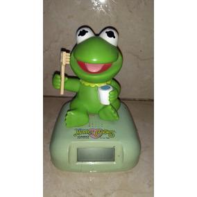 Reloj Casio Colección Muppets Barbies Usado Rana Kermit