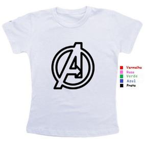 Kit 4 Camisetas Personalizadas Para Familia Vingadores - Camisetas e ... 8d39ffd12df51