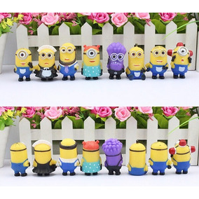 Miniaturas Minions Meu Malvado Favorito 8 Miniaturas #mmf002