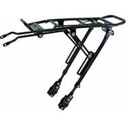 Porta Equipaje Bicicleta Apto Freno Disco Rod. 26 29 Regulab