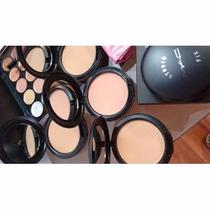 45 Pzas Mac Incluye Paleta Naked-set Brochas-paleta Correcto