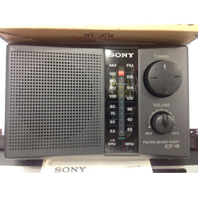 Radio Am-fm Originales.sony Icf.18 Nuevos Portatil