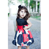 Vestido Infantil Da Minnie Balone Baby
