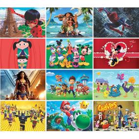 Painel Decorativo Infantil Festa Lona Banner 2,0 M X 1 M