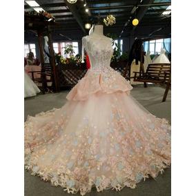 Vestidos Tipo Princesa. Vestidos Xv. Desmontable. Couture