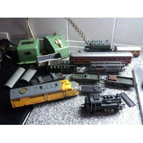 Lote Antiguo Ferrocarril Fleischmann Germany Locomotoras