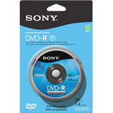 Sony Dvd Recordable Media Dvd-r 1.40 Gb 10 Pack Spindle Blue