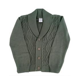 Pompas - Sweaters Para Chicos / Niños - Saco Con Trenzas