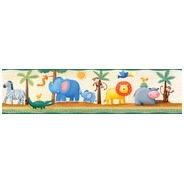 Faixa Decorativa - Quarto - 1m X 20cm - Zoo
