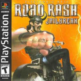 Road Rash Jailbreak - Ps1 Patch + Encarte