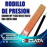 Rodillo De Presion Canon Np 7130/6512/6612, Fb4-9878-000