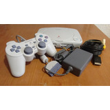 Play Station 1,ch1p,5 Juegos,2 Controles,meses Sin Intereses