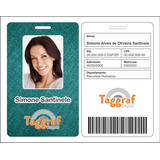 12 Crachás/cartões Personalizados 4 Cores C/ Rfid 125 Oculto