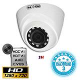 Camara Hdcvi Domo 720p Ir Vision Nocturna Cctv Saxxon Pro