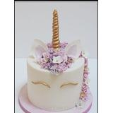 Torta Unicornio Baby Quinceaños Cupcake Combo Cumpleaños