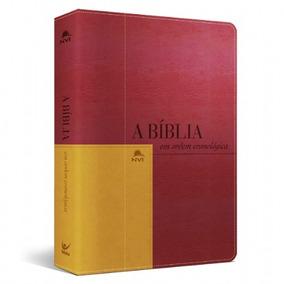 Bíblia Em Ordem Cronológica + Estudos Nvi Fretegratis