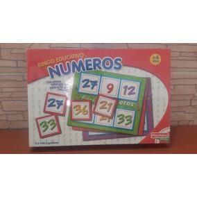 Juego De Números Didáctico Para Niños(as)