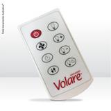 Controle Remoto Para Ventilador De Teto Volare - 127v