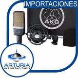 Akg C214 Microfono De Condensador