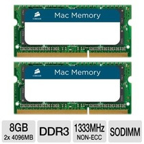Corsair Certificado Por Apple 8gb (2x4gb) Ddr Mhz (pc ) Mem