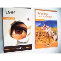 Paquete Rebeliòn En La Granja + 1984 George Orwell