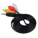 Cable Para Filmadora 3 En 1 Video Y Audio