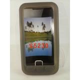 Capa Silicone Grafite Samsung Star S5230 5230 Star Tv I6220