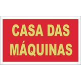 Casa Das Maquinas (pvc - 0,8 Mm, 40 X 20)