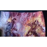 Posters Mortal Kombat Y Bleach.